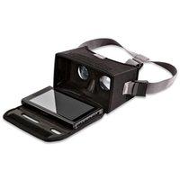 juegos virtuales al por mayor-Gafas de realidad virtual GHH VR con gancho para auriculares para NS Switch Gaming Super Light Light Correa de hombro extensible CE1426