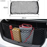 2x Universal Car Van Trunk Storage Net Pocket// Elastic Net Organiser 90 x 30cm