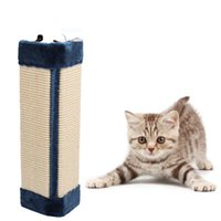 Wholesale corner pad for sale - Group buy Non toxic Cat Scratch Board Toy Sisal Wear Resistant Protective Post Mat Corner Durable Wall Hanging Kitten Pad Funny