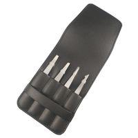 ingrosso set di tweezer del sopracciglio-4 Pz strumento portatile dell'acciaio inossidabile del sopracciglio di rimozione pratico trucco di levigatura della clip addensare Splinter professionale Tweezer Set