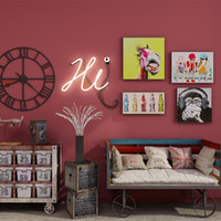 tv arka planı ev toptan satış-Katı Minimalist Tarzı Duvar Kağıdı Modern Renk Duvar Kağıdı Rulo Yatak Oturma Odası Tv Arka Plan Ev Dekor Duvar Kaplaması