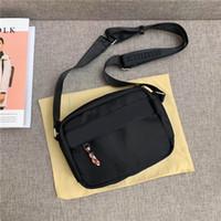 Wholesale best quality cell phones for sale – best Designer bag canvas men s shoulder bag best quality handbag size