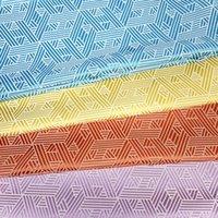 geometriegewebe großhandel-Zeitgenössische 4 farben Polyester Geometrie Woven Dekorative DIY Moderne Sofa Polster Sessel Heim Stoff Tischdecke 140 cm Verkauf durch meter