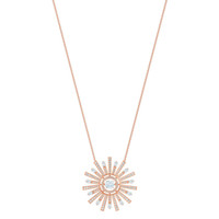 солнечные чары оптовых-SWA RO Fashion Charm 2019 New SUNSHINE Necklace Ladies Gorgeous Dazzling Crystal To Send Mom Girlfriend  Jewelry Gift