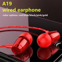 Wholesale new sport music for sale - Group buy New Arrival Sport Volume Control In ear Music Metal Earphone With Microphone Super Quality Subwoofer Headset For Phones MP3