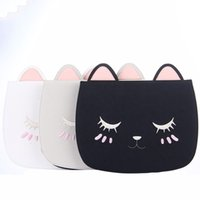 Wholesale ipad cats case cover online – custom Cute Cartoon Cat Pu Leather Cover For Apple Ipad Air Pro Soft Smart Protective Case Coque stylus Pen T190710
