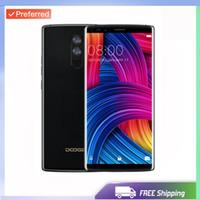 doogee phone toptan satış-Fabrika Unlocked Orijinal Doogee Mix 2 Smartphone 6 GB RAM 64 GB ROM 5.99 Inç 16MP Çift Arka kamera Parmak İzi Telefon