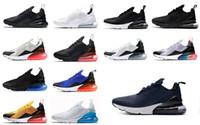 eğitim boksu toptan satış-NIKE VAOPRMAX MAX Kutu olmadan Erkekler ve Kadınlar yeni Flair 270 Ayakkabı GS kaplan Kaktüs beyaz siyah sarı eğitim sneakers 2018 Koşu Ayakkabıları ayakkabı