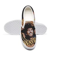 sapatos para dedo venda por atacado-Casual Waylon Jennings Greatest Hits Unisex Canvas exclusivo antiderrapante Shoes design bonito Pop Edição limitada Five Finger Death Punch Poster