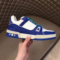 Wholesale mens sneakers sale resale online - Mens Shoes Sneakers Lace Up Trainer Sneaker Fashion Sports Walking Footwears with Mens Shoes Casual Chaussures pour hommes Sale hjk04