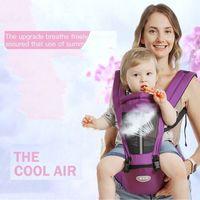 Wholesale baby travel seat belt resale online - Baby Carrier Carrier Hipseat Sling Backpack Belt Waist Hold Infant Hip Seat Portable Travel Shopping Newborn Comfort New