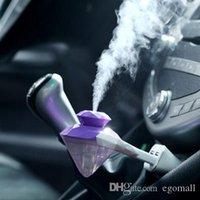 taşınabilir elmas ışıkları toptan satış-Araba USB Nemlendirici Taşınabilir kullanım Two-in-one USB mini araba parfüm elmas renkli gece lambası nemlendirici Araç aile açık nemlendirici
