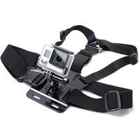 Wholesale camera mounts xiaomi online - 2019 hot for Gopro Accessories Adjustable Chest Strap Belt Body Tripod Harness Mount For Gopro Hero SJCAM Xiaomi Yi Camera Access