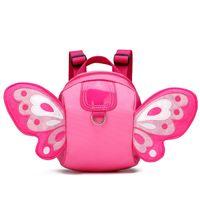 ingrosso giocattoli scolastici-New Kawaii Peluche Kids Anti-lost Butterfly Wings Zaino Giocattolo Mini School Bag Regali per bambini Kindergarten Boy Girl Baby Student