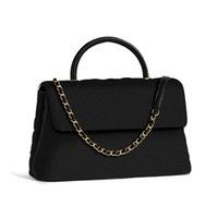 klasik tasarım çantaları toptan satış-Sıcak Satış Moda Vintage Çanta Kadın Çanta Çanta Tasarımcısı Cüzdan Kadınlar için Deri Zincir Çanta Hediye ile Crossbody ve Omuz Çantaları çanta