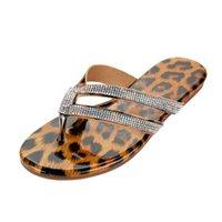 Wholesale bunion shoes resale online - Leopard Women Shoes Artificial Slipper Orthopedic Bunion Corrector Comfy Platform Casual Flip Plops Correction Beach Slippers