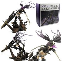Wholesale black rock shooter figures for sale - Group buy 29cm Insane Black Rock Shooter BRS Anime Animation Action Figure Office Hand Scale Painted PVC Model Toys Dolls Gift Decoration SH190908