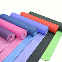 Wholesale beginner yoga for sale - Group buy 2020 Eco freindly tasteless light yoga mat long thickening yoga slip fitness mat widening beginner dustproof and waterproof