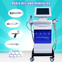 Wholesale used hydra facial machines resale online - microdermabrasion dermabrasion machine Skin Cleaning black head removal Oxygen Spray Skin Moisturization hydra facial machine SPA beauty use