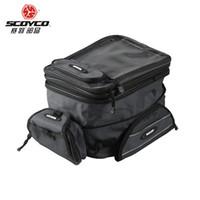 réservoir d'huile pour moto achat en gros de-SCOYCO 100% Original moto universelle motocross sac de réservoir d'huile sac de bagage étanche réservoir de carburant magnétique moto