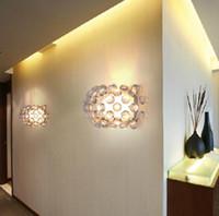 Wholesale lamp foscarini for sale - Group buy Modern Foscarini Caboche LED Wall lamp Eliana Gerotto mm mm wall light led Light for bedroom hallway Dinning room Indoor Lights