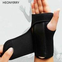 luvas de apoio dedo venda por atacado-Síndrome do Túnel Carpal Splint Balight Unisex Outdoor de Fitness atadura ortopédica Mão Brace Luvas de apoio para o punho Dedo