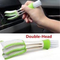 Wholesale car clean brush duster for sale - Group buy 1 Mini Duster Air Vent Blinds Duster Cleaning Brush Dust Brush Car Interior Car Air Outlets Cleaning Tools