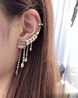 ingrosso orecchini del bracciale-Orecchini color oro per le donne Gioielli della Boemia Moda Nappe Stella Orecchini a forma di polsino con orecchini per le donne Orecchini con ciondolo