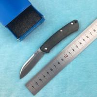 faca dobrável ak venda por atacado-LEMIFSHE faca novo 319 faca dobrável G10 lâmina S30V / mekata lidar com acampamento ao ar livre bolso faca de cozinha fruta ferramenta EDC
