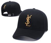 marcas famosas sombreros de las mujeres al por mayor-Nuevo diseñador de lujo papá sombreros gorra de béisbol para hombres y mujeres marcas famosas de algodón ajustable cráneo deporte golf curved hat