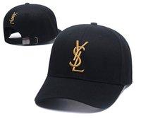 lüks kadın şapkaları toptan satış-Yeni Lüks Tasarımcı Erkekler Ve Kadınlar Için Baba Şapkaları Beyzbol Şapkası Ünlü Markalar Pamuk Ayarlanabilir Kafatası Spor Golf Kavisli Şapka