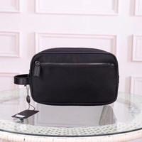 Wholesale make up days resale online - Clutch bag for men cosmetic bag for women big travel organizer purse storage wash bag make up men purse Cosmetic case man