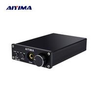 decodificador óptico usb venda por atacado-IYIMA Headphone Portátil TPA6120A2 USB Coaxial Optical DAC HiFi Audio Decodificador Amplificador Digital 24Bit / 192KHz AIYIMA Auscultadores Portáteis A ...