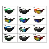 Wholesale bike sunglasses uv resale online - Sunglasses Cycling Sunglass Outdoor Driving Eyeglasses Sports Bike Sunglasses Summer Beach Eyewear Fashion UV Eye Wear ZZA450