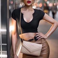 ingrosso telefono nero di qualità-6 colori Moda e qualità L'ultima moda borse in vera pelle pieno signore borsa a tracolla Messenger cellulare nero rosso size22.5 *