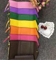 ingrosso borsa lunga portafoglio borsa-borse di lusso del progettista portafogli portafoglio nuovo arrivo in pelle moda singola cerniera Portafoglio donna lungo