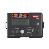 ingrosso tester di resistenza all'isolamento digitale-UNI-T UT526 Misuratore elettrico digitale multifunzione Tester di isolamento elettrico UT526 Misuratore di resistenza di terra + Macchina di prova RCD