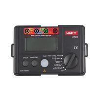 testador de resistência de isolamento digital venda por atacado-UNI-T UT526 Multifuncional medidor elétrico digital UT526 Medidor de Resistência À Terra + RCD Test Machine