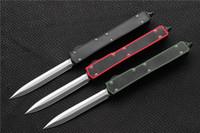 ingrosso coltello da tasca doppio bordo-Spedizione gratuita, MIKER II Tactical Knife D2 Double Edge finitura satinata Blade maniglia in fibra di carbonio caccia EDC tasca sopravvivenza coltelli