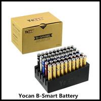 Wholesale vape pen for herb oil for sale - Group buy 100 Original Yocan B Smart Battery mah Preheat Function Adjustable Voltage Vape Pens For Thread Oil Wax Herb Vaporizer Carts