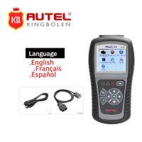 escáneres de código de enlace automático al por mayor-AUTEL ML519 AutoLink Auto Code Scan Reader Para Todos OBD2 CAN EOBD Escáner de Coche ML 519 Mejor que AL519