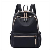 Wholesale backpacks for travel online - Designer Backpack Designer Backpacks for Teenage Girls with Double Zipper Oxford Messenger Bag Luxury Ladies Travel Backpack