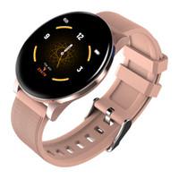 mejor reloj de ritmo cardíaco al por mayor-El mejor reloj inteligente fitbit reloj deportivo inteligente para hombres y mujeres reloj inteligente Monitor de frecuencia cardíaca a prueba de agua para iPhone y Android