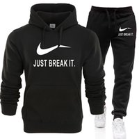 нижнее белье оптовых-New 2019  Tracksuit men thermal underwear Men Sportswear Sets Fleece Thick hoodie+Pants Sporting Suit Malechandal hombre