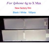 ingrosso adesivi posteriori per telefoni-Nuovo film di fabbrica per iPhone 8g X XR 7p plus Refurbish Front + Back ristrutturare Screen Protector Sticker Nuovo film per iPhone 6g 7g 8P MAX