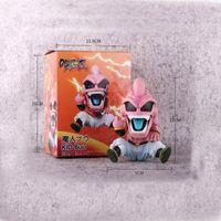 figura de majin buu al por mayor-12 cm Anime Dragon Ball Z Majin Kid Buu Dragonball estatuilla PVC figura de acción modelo juguetes coleccionables para el regalo