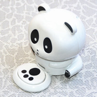 Wholesale panda cute resale online - Cute Panda Manicure Nail Dryers Polish Blower Dryer Nails Nail Art Dryer Finger Toe Fast Drying Dry Machine Tool RRA2554