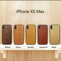 Wholesale bamboo wood phone case for sale – best Slim D Hybrid Back Covers Natural Wood Bamboo Cell Phone Cases Full Body Protective TPU Snap on Bumper Case for iPhone and Samsung Galaxy