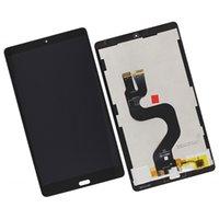 ingrosso huawei mediapad digitizer-Assemblaggio digitizer schermo display LCD da 8,4 pollici per Huawei Mediapad M5 8 SHT-AL09 Tablet pezzi di ricambio nero bianco