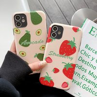 Wholesale phone 5c case online – custom For iPhone plus Fruits Strawberry Watermelon Phone case For iPhone S Plus X S SE C S Coque Shell